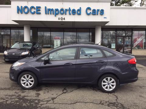 2012 Ford Fiesta for sale at Carlo Noce Imported Cars INC in Vestal NY