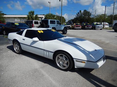 1990 Chevrolet Corvette for sale in Leesburg, FL