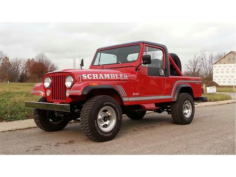 1985 Jeep CJ-8 for sale in Leesburg, FL