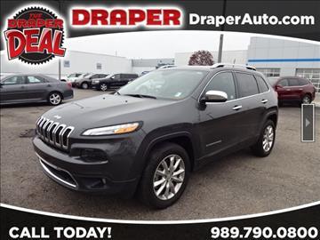 2016 Jeep Cherokee for sale in Saginaw, MI