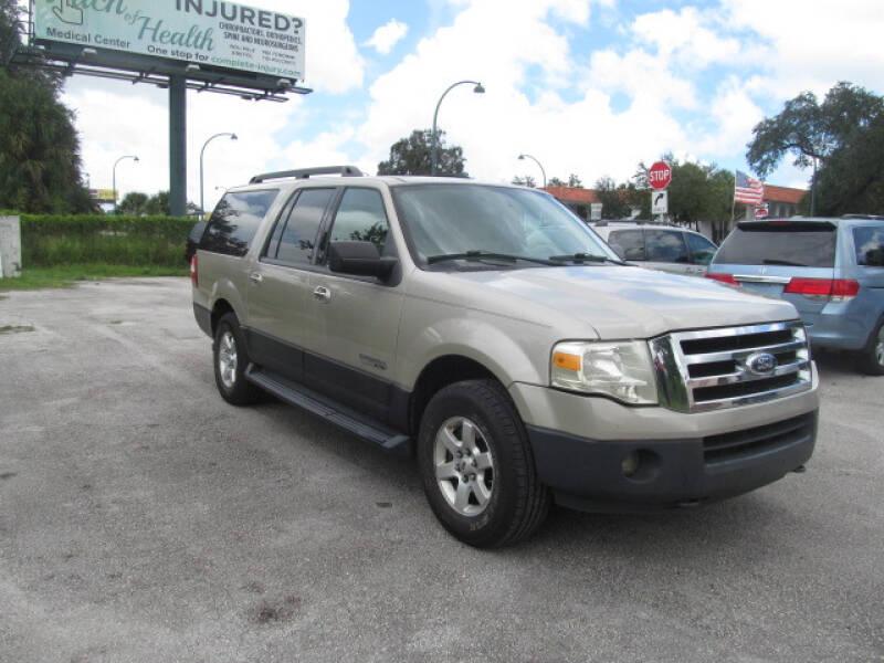 2007 Ford Expedition EL XLT 4dr SUV 4x4 - Orlando FL
