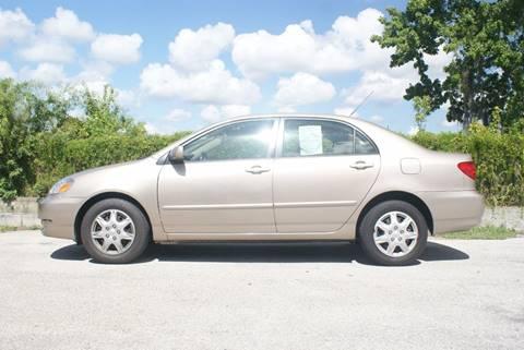 2007 Toyota Corolla for sale at Orlando Auto Motors INC in Orlando FL