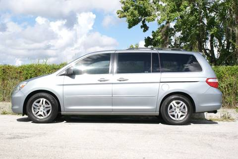 2007 Honda Odyssey for sale at Orlando Auto Motors INC in Orlando FL