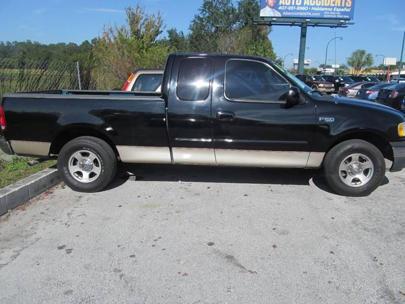 2000 Ford F-150 2dr XLT 4WD Standard Cab LB - Orlando FL