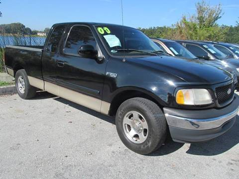 2000 Ford F-150 for sale at Orlando Auto Motors INC in Orlando FL