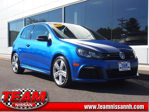 2012 Volkswagen Golf R for sale in Manchester, NH