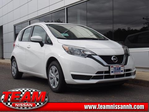 2017 Nissan Versa Note for sale in Manchester, NH