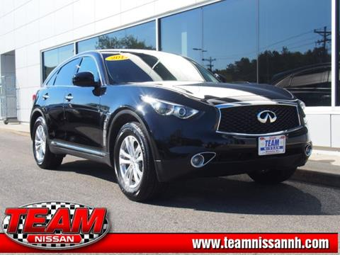 2017 Infiniti QX70 for sale in Manchester, NH