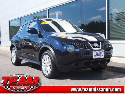 2013 Nissan JUKE for sale in Manchester, NH