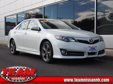2012 Toyota Camry for sale in Manchester, NH