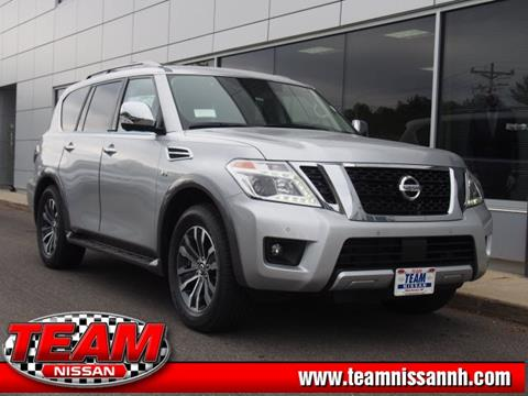 2018 Nissan Armada for sale in Manchester, NH
