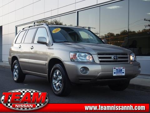 2007 Toyota Highlander for sale in Manchester, NH