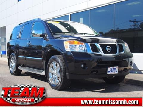 2013 Nissan Armada for sale in Manchester, NH