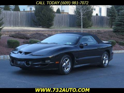 2002 Pontiac Firebird for sale in Hamilton, NJ