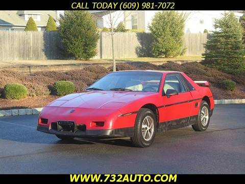 1986 Pontiac Fiero for sale in Hamilton, NJ