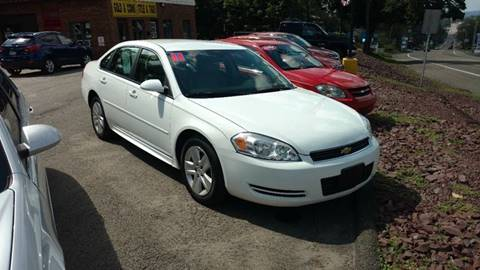 2011 Chevrolet Impala for sale in Mountain Top, PA