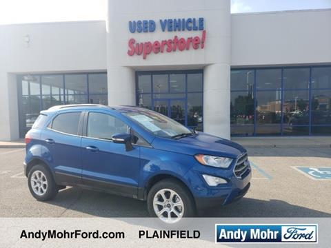 2018 Ford EcoSport for sale in Plainfield, IN