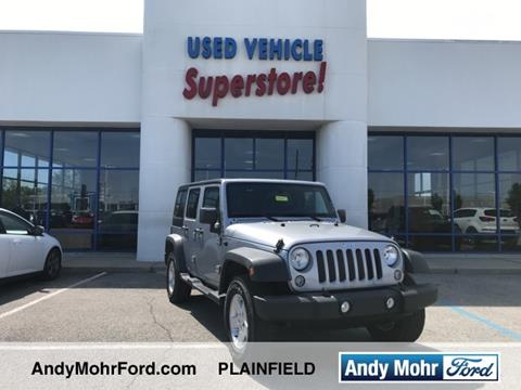 2015 Jeep Wrangler Unlimited for sale in Plainfield, IN