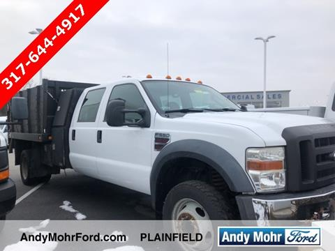 2008 Ford F-550 Super Duty for sale in Plainfield, IN