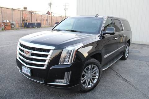 2016 Cadillac Escalade ESV for sale at Car Match in Temple Hills MD