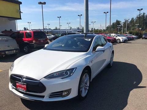2012 Tesla Model S for sale in Covington, WA