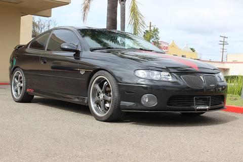 2004 Pontiac GTO for sale in San Diego, CA