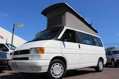 1993 Volkswagen EuroVan for sale in San Diego, CA