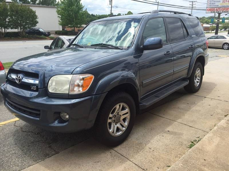 2006 Toyota Sequoia for sale at Monroes Auto Export in Greensboro NC