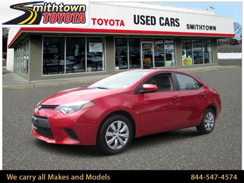 2014 Toyota Corolla for sale in Smithtown, NY