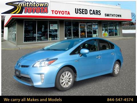 2012 Toyota Prius Plug-in Hybrid for sale in Smithtown, NY