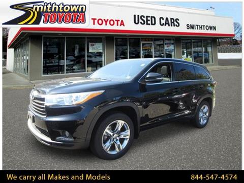 2015 Toyota Highlander for sale in Smithtown, NY