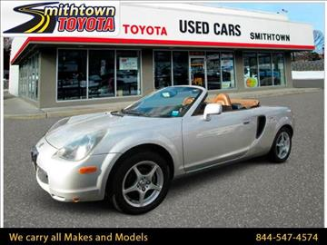 2002 Toyota MR2 Spyder for sale in Smithtown, NY