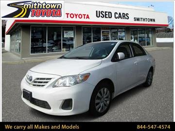 2013 Toyota Corolla for sale in Smithtown, NY