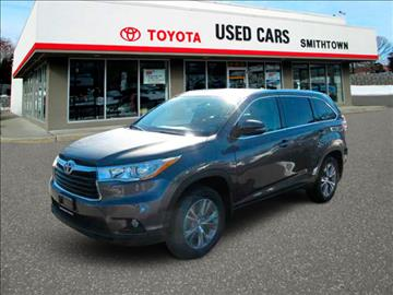 2014 Toyota Highlander for sale in Smithtown, NY