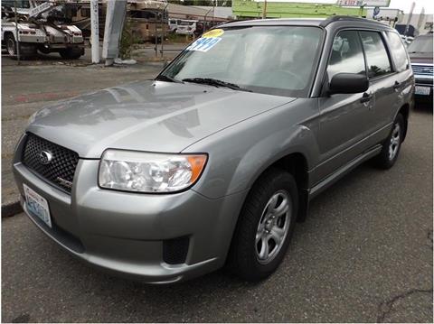 2007 Subaru Forester for sale in Seattle, WA