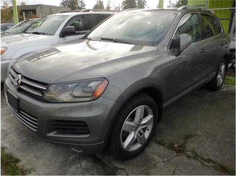 2012 Volkswagen Touareg for sale in Seattle, WA