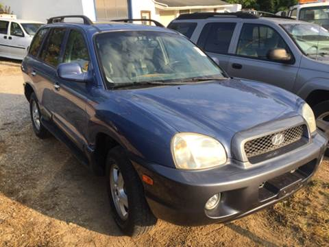 2003 Hyundai Santa Fe for sale in Ashville, OH