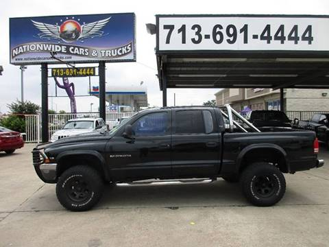 2000 Dodge Dakota for sale at Nationwide Cars And Trucks in Houston TX