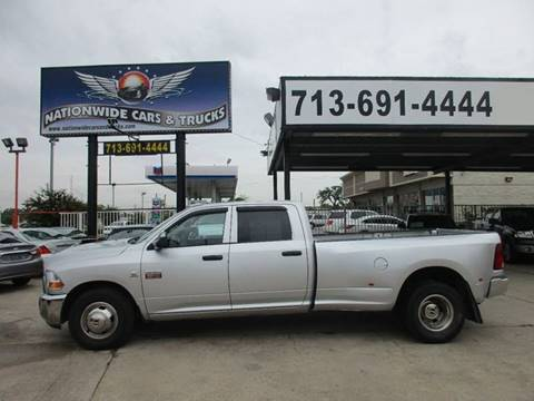 2012 RAM Ram Pickup 3500 for sale at Nationwide Cars And Trucks in Houston TX