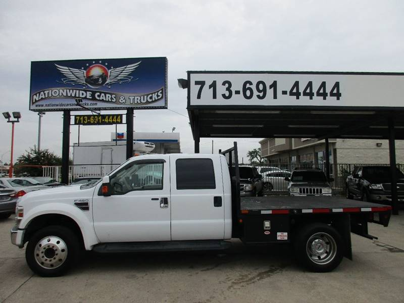 2008 Ford F-450 Super Duty for sale at Nationwide Cars And Trucks in Houston TX