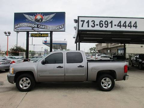 2009 Chevrolet Silverado 1500 for sale at Nationwide Cars And Trucks in Houston TX