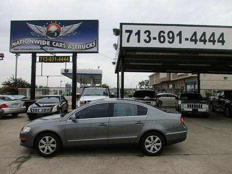 2006 Volkswagen Passat for sale at Nationwide Cars And Trucks in Houston TX