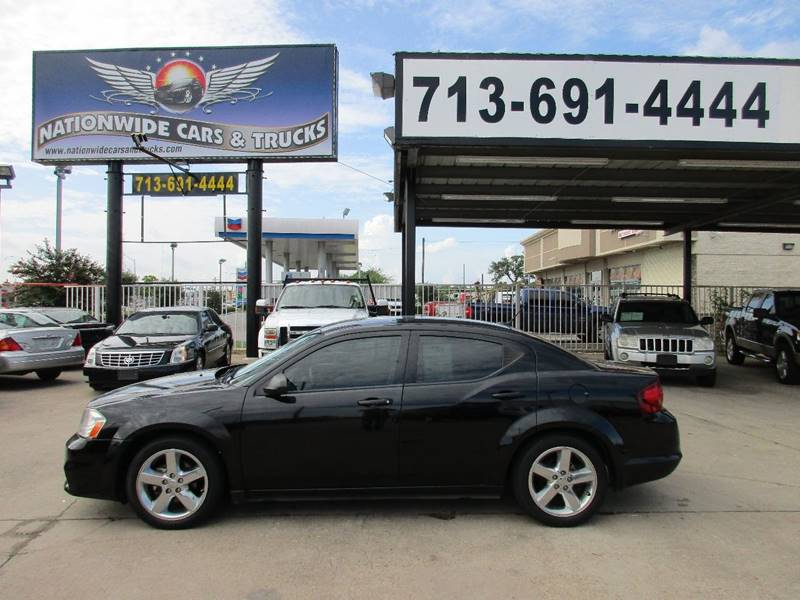 2013 Dodge Avenger for sale at Nationwide Cars And Trucks in Houston TX