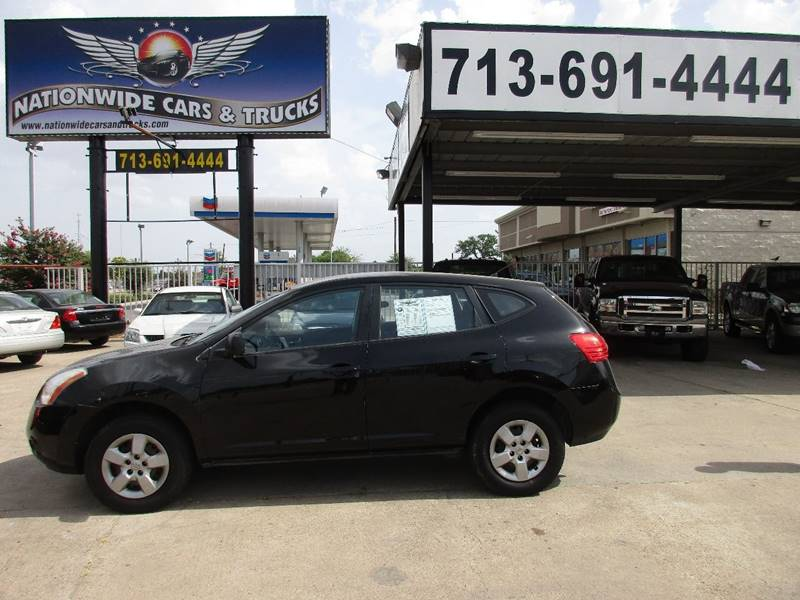 2009 Nissan Rogue for sale at Nationwide Cars And Trucks in Houston TX