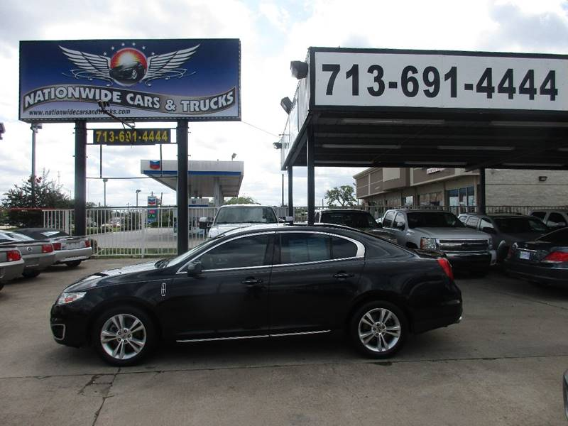 2009 Lincoln MKS for sale at Nationwide Cars And Trucks in Houston TX