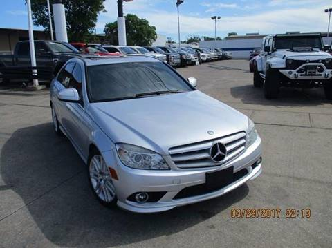 2009 Mercedes-Benz C-Class for sale at Nationwide Cars And Trucks in Houston TX