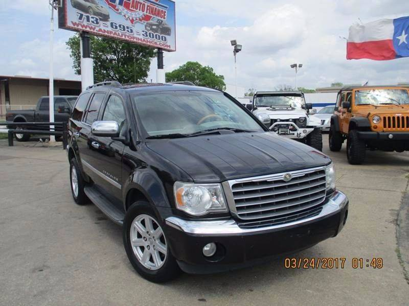 2007 Chrysler Aspen for sale at Nationwide Cars And Trucks in Houston TX