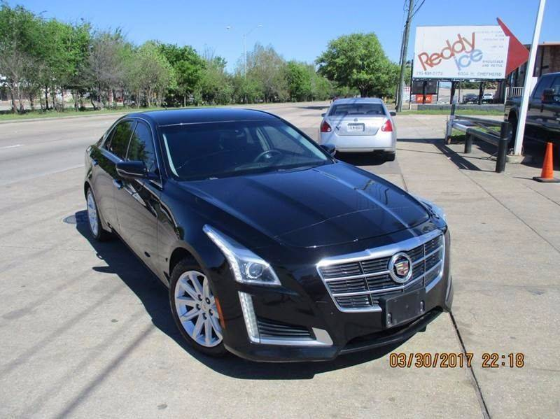 2014 Cadillac CTS for sale at Nationwide Cars And Trucks in Houston TX