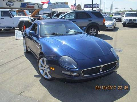 2003 Maserati Spyder for sale in Houston, TX