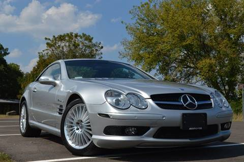 2003 Mercedes-Benz SL-Class for sale at Manfreds Import Auto in Cary IL